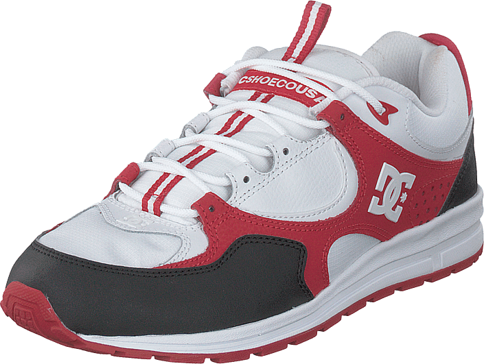 DC Shoes - Kalis Lite Black/white/red