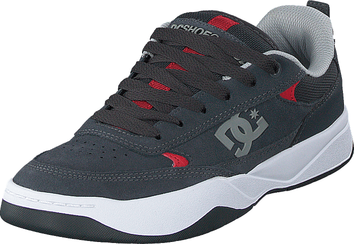 DC Shoes - Penza Grey/grey/red