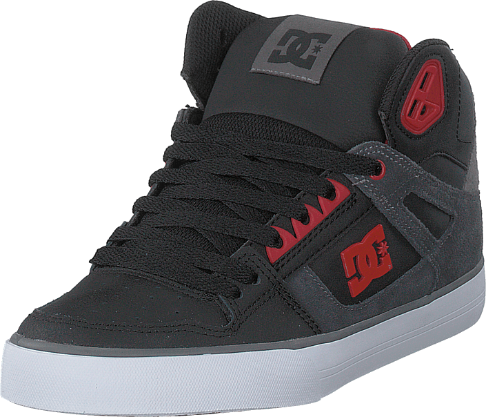 DC Shoes - Pure High-top Wc Se Black/red