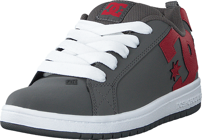 DC Shoes - Court Graffik Grey/red