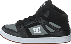 menn Hi top trainers Feiyue A.S HIGH SKATE Svart
