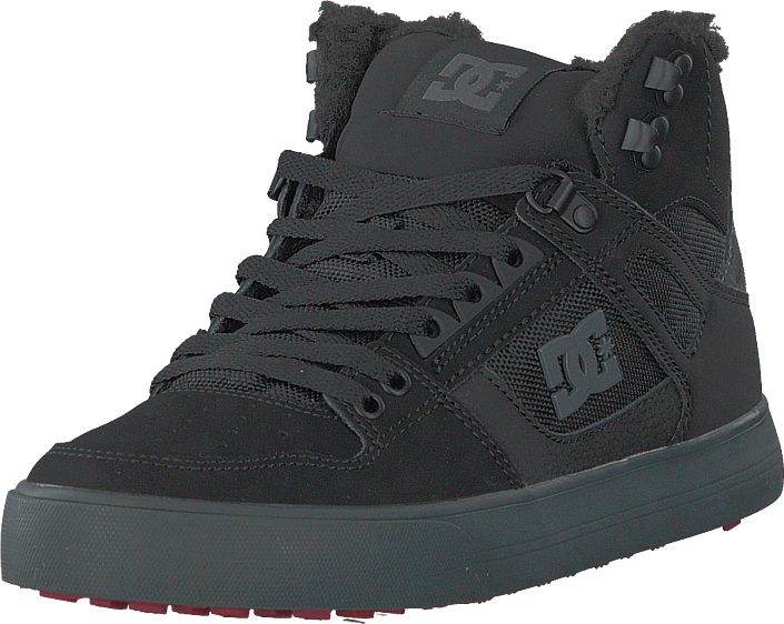 DC Shoes - Pure High-top Wc Wnt Black/grey/red