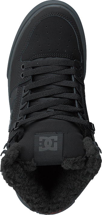 Kjøp Dc Shoes Pure High-top Wc Wnt Black/grey/red Sko Online