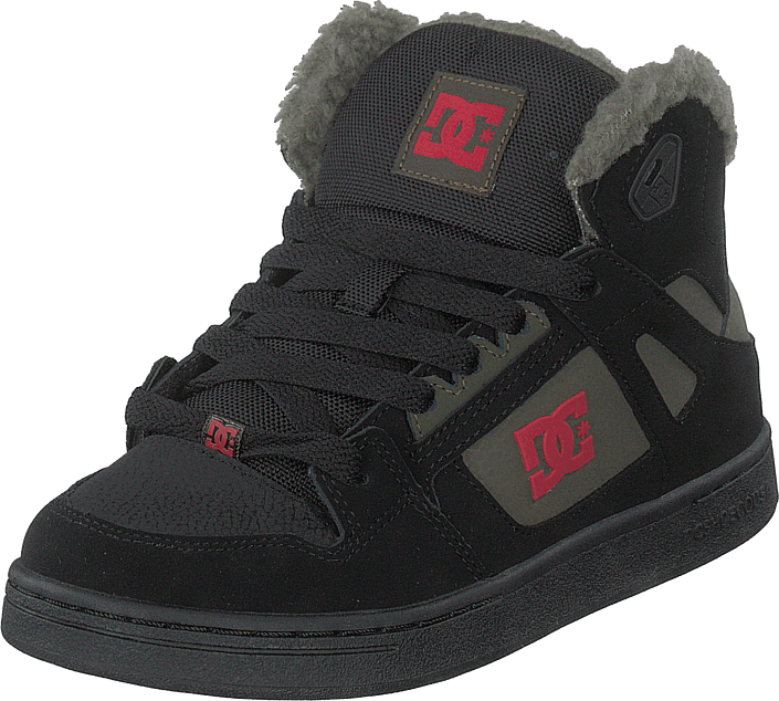 DC Shoes - Pure High-top Wnt Black/olive Night