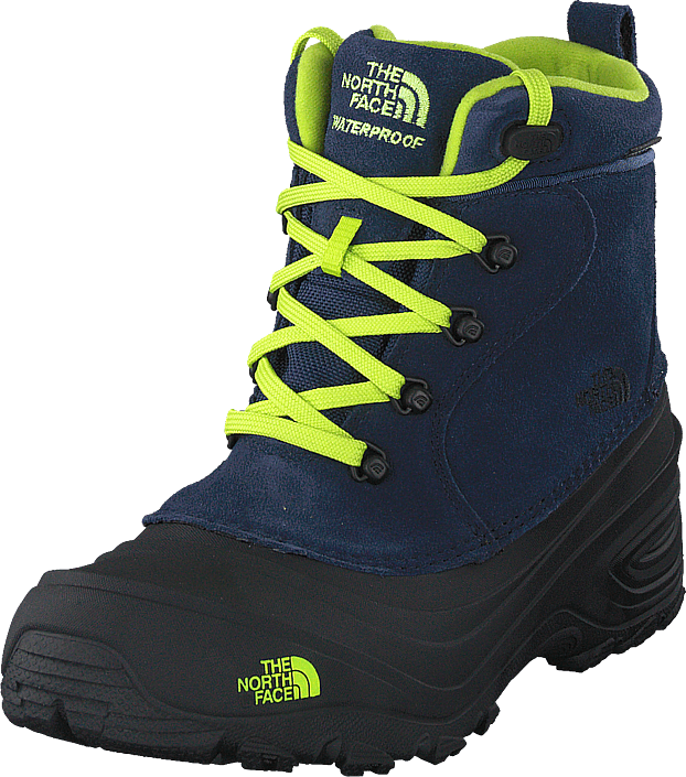 The North Face - Youth Chilkat Lace Ii Cosmic Blue/lime Green