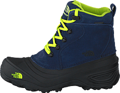Youth Chilkat Lace Ii Cosmic Blue/lime Green
