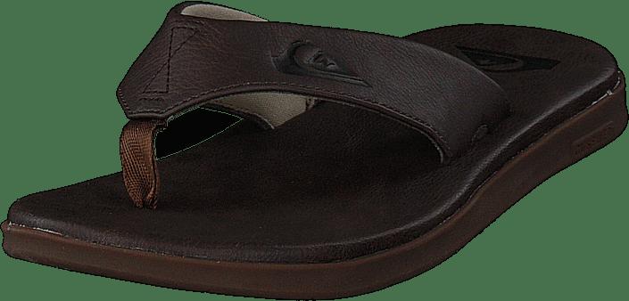 Quiksilver - Haleiwa Plus Nubuck Brown/brown/brown