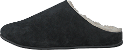 Sherling Slipper Chrissy Mule All Black