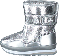 Rd Cracked Metallic Kids Silver