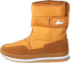 Rd Nylon Suede Solid Camel Brown