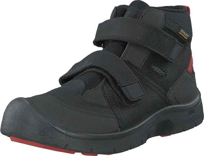 Hikeport Mid Strap Wp Black/bright Red