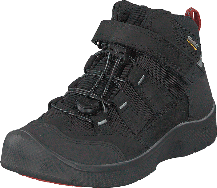 Keen - Hikeport Mid Wp Black/bright Red