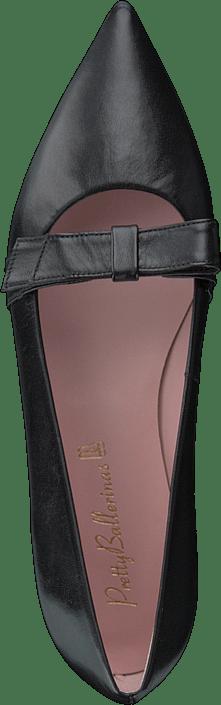 Pretty Ballerinas 9100 Coton Negro Flache schuhe für Damen 8514628