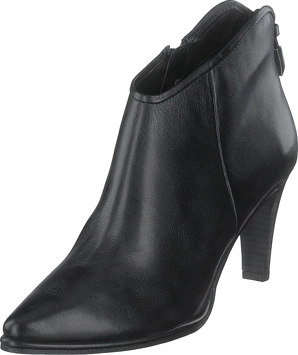 Tamaris 1-1-25073-23 3 Black Leather, Skor, Stövlar & Stövletter, Stövlett, Grå, Dam, 39