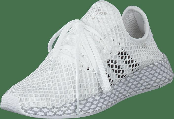 Adidas Deerupt Runner Footwear White & Core Black une paire