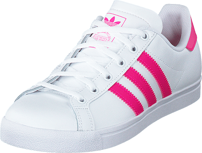 adidas Originals - Coast Star J Ftwr White/shock Pink/ftwr Whi