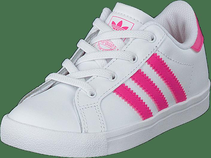 adidas Originals - Coast Star El I Ftwr White/shock Pink/ftwr Whi