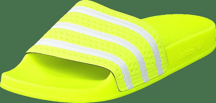 adidas Originals - Adilette Solar Yellow/ftwr White/solar