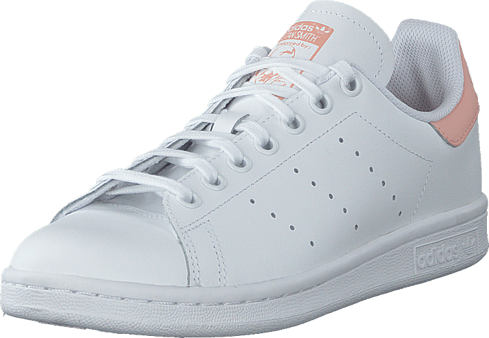 adidas Originals - Stan Smith J Ftwr White/ftwr White/glow Pin