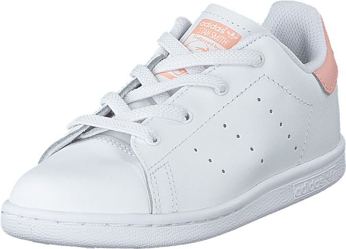 adidas Originals - Stan Smith El I Ftwr White/ftwr White/glow Pin