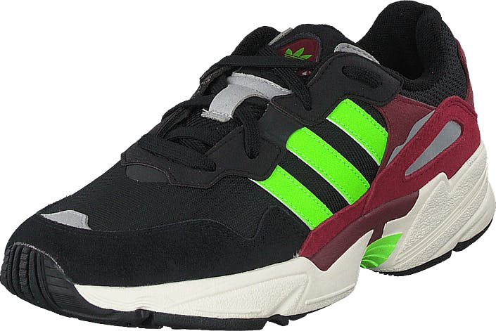adidas Originals Yung-96 Core Black/solar Green/collegi, Skor, Sneakers & Sportskor, Sneakers, Svart, Unisex, 45