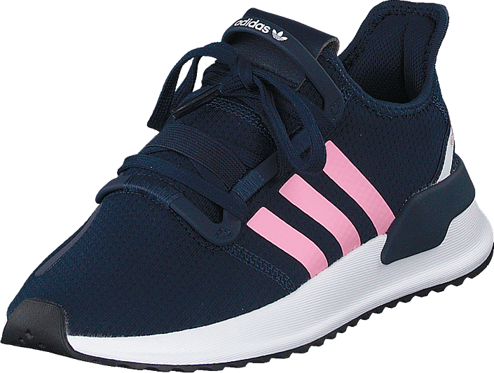 adidas Originals - U_path Run J Collegiate Navy/light Pink/ftw