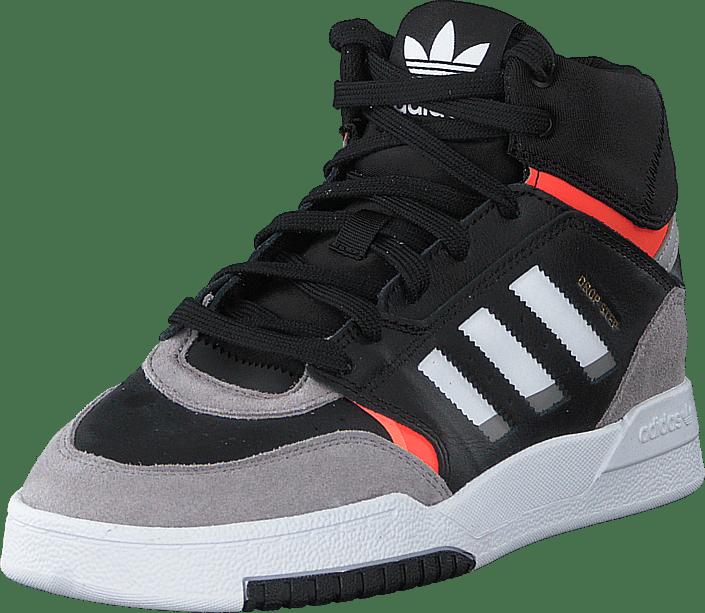 adidas Originals - Drop Step J Core Black/light Granite/solar