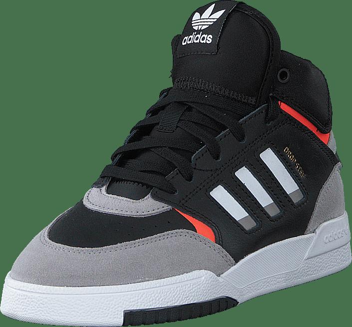 adidas Originals - Drop Step C Core Black/light Granite/solar