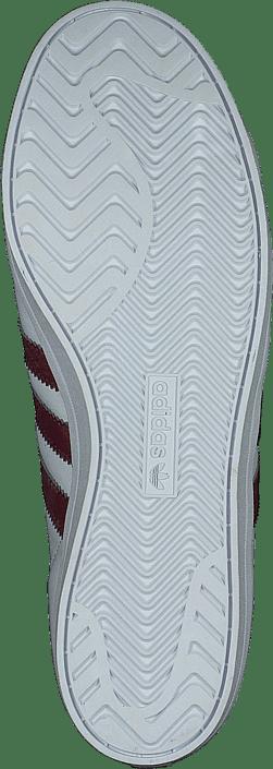 adidas Originals Coast Star Ftwr White/collegiate Burgundy 215487793