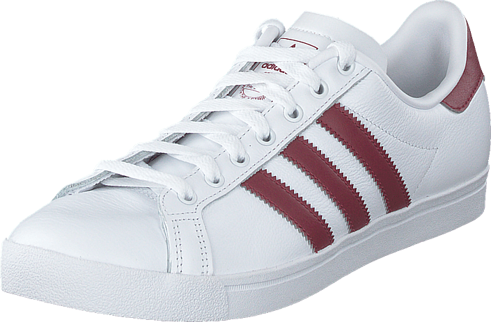 adidas Originals - Coast Star Ftwr White/collegiate Burgundy