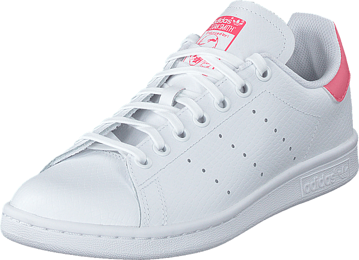 adidas Originals - Stan Smith J Ftwr White/ftwr White/real Pin
