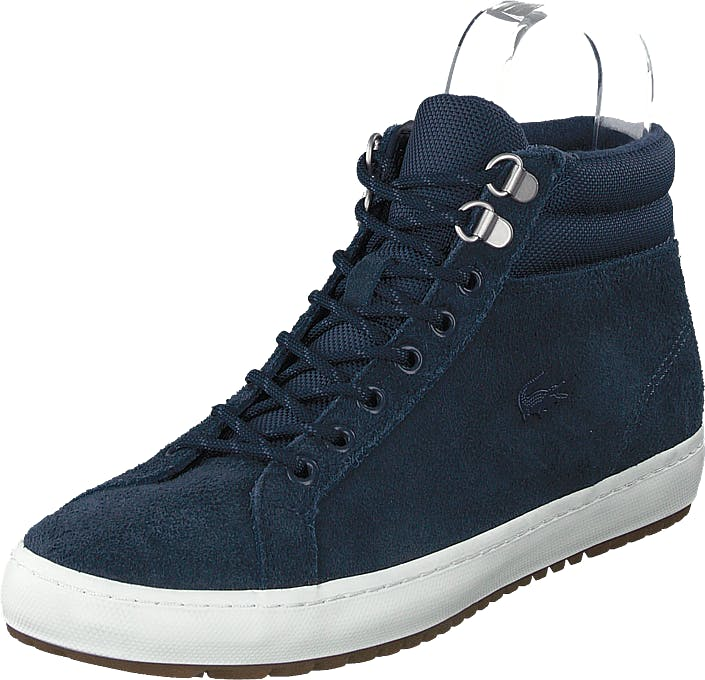 Lacoste Straightsetinsulac3191cma Nvy/off Wht, Skor, Sneakers & Sportskor, Höga sneakers, Blå, Herr, 43