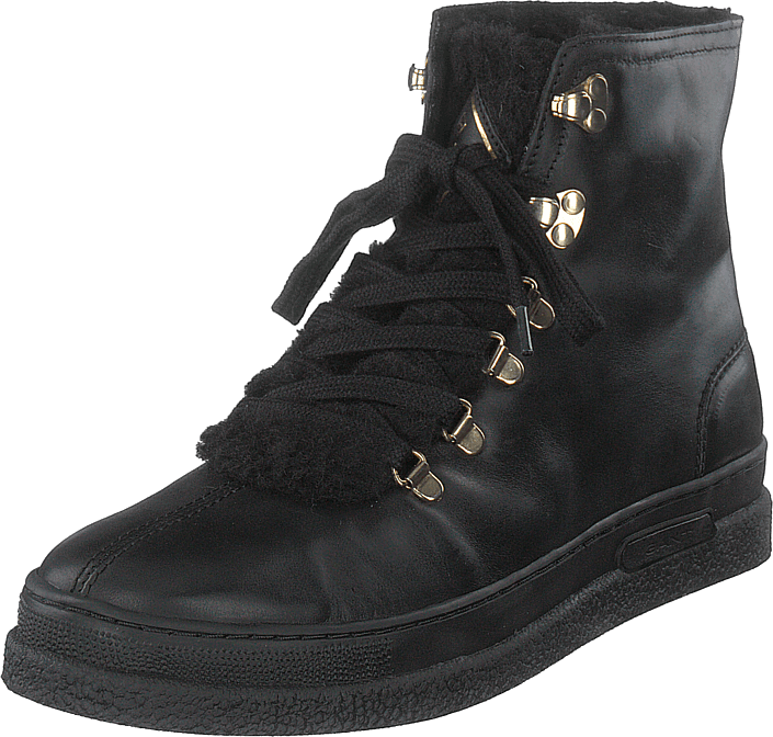 Maria Mid Lace Boot G00 Black