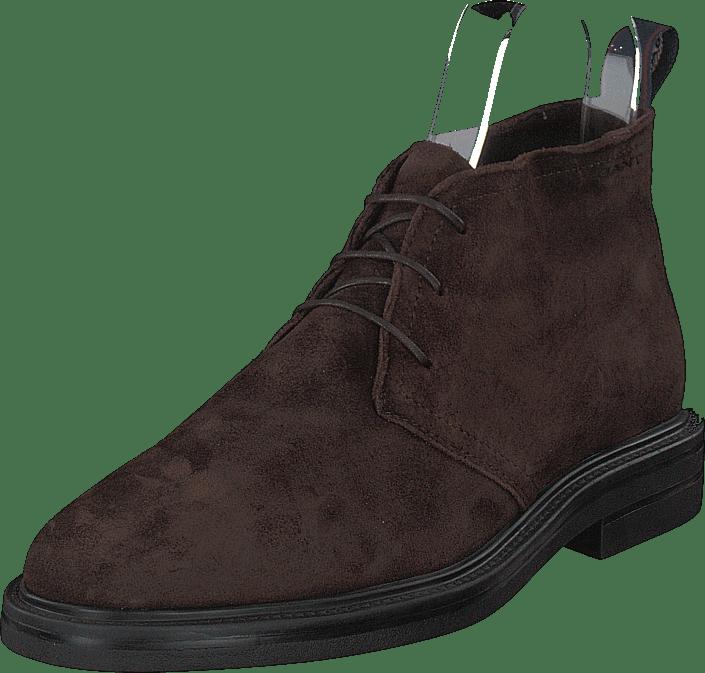 Fargo Mid Lace Boot G46 Dark Brown