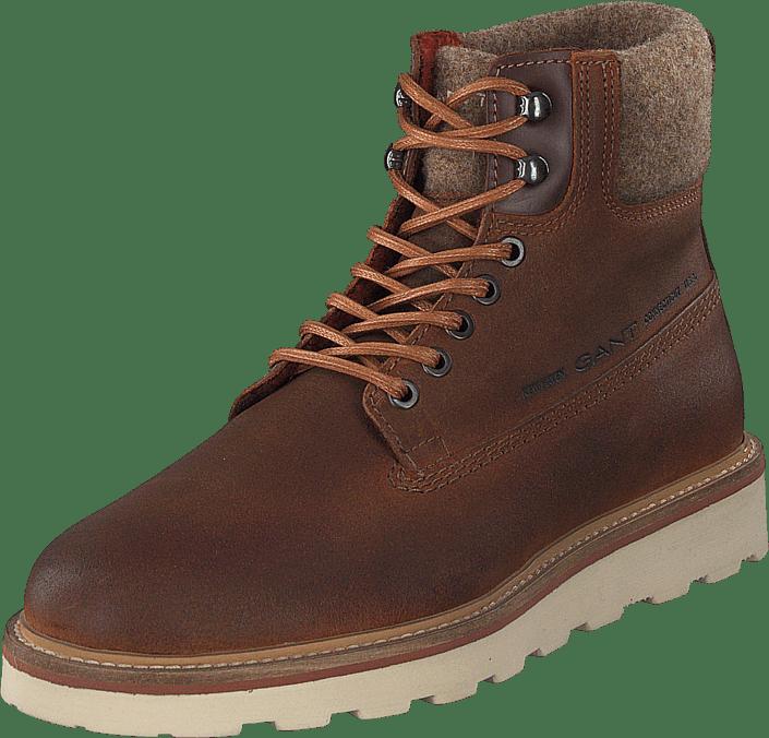 Don Mid Lace Boot G45 Cognac