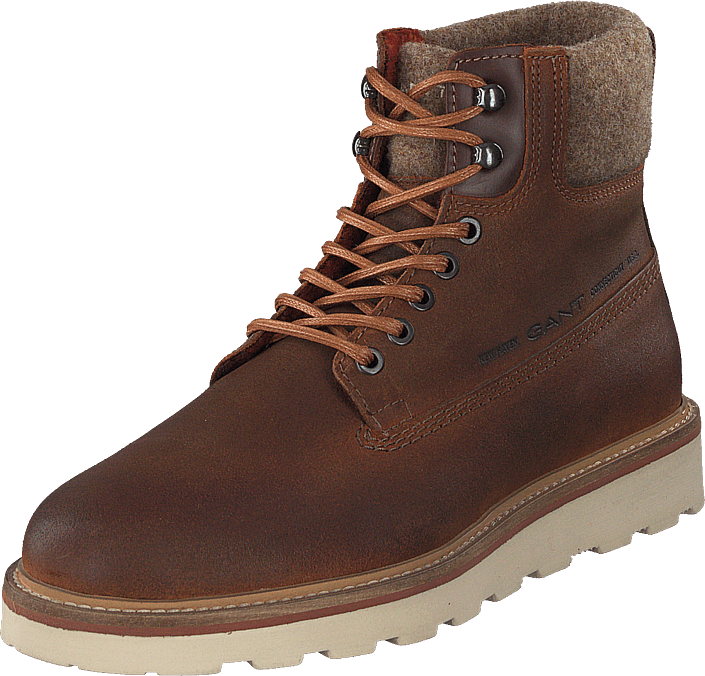 Gant - Don Mid Lace Boot G45 Cognac