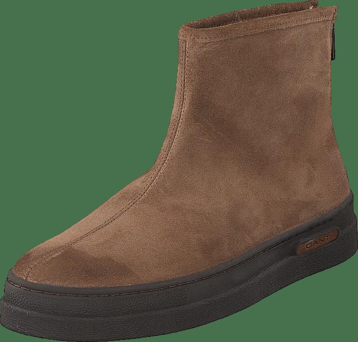 Gant - Creek Zip Boot G467 Mud Brown