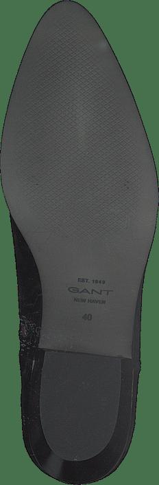 Kjøp Gant Lizzi Mid Zip Boot G00 Black Sko Online