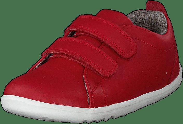 Bobux - Grass Court - Waterproof Red