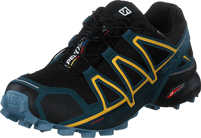 Salomon - Speedcross 4 Gtx Black/reflecting Pond/spectra