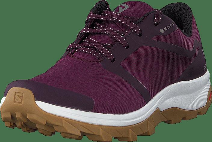 Outbound Gtx W Potent Purple/wht/gum1a