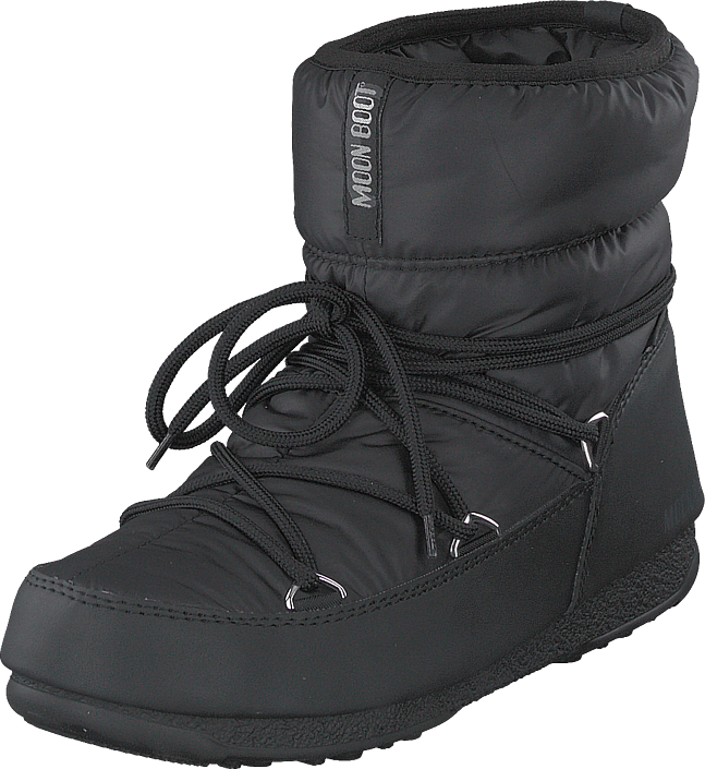 Moon Boot - Moon Boot Low Nylon Wp Black