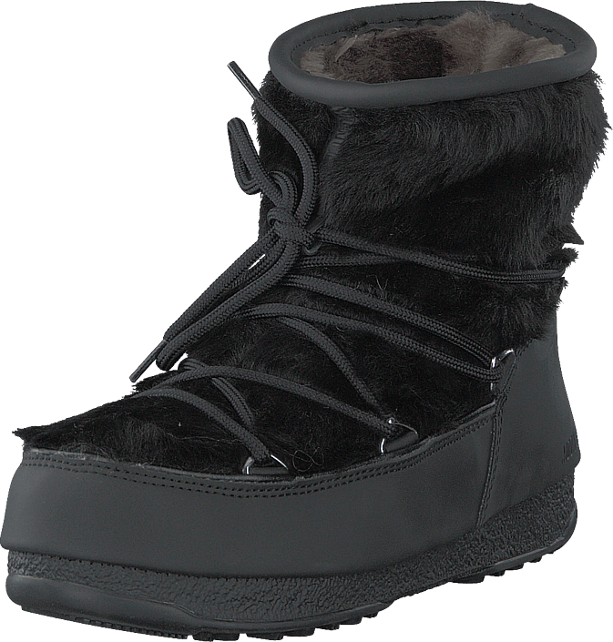 Moon Boot - Monaco Low Fur Wp Black