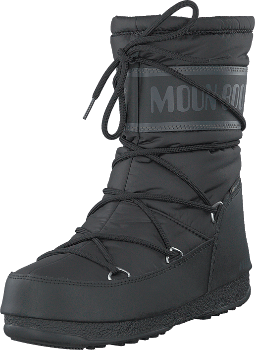 Moon Boot - Moon Boot Mid Nylon Wp Black