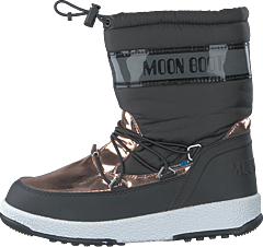 MB MOON BOOT JR GIRL SOFT WP BLACK-COPPER