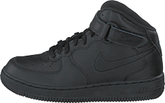 Force 1 Mid (ps) Black/black-black