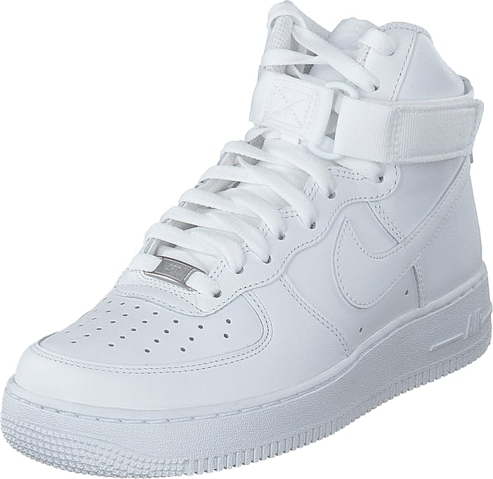 Nike Air Force 1 High White/white-white, Skor, Sneakers & Sportskor, Höga sneakers, Vit, Dam, 36