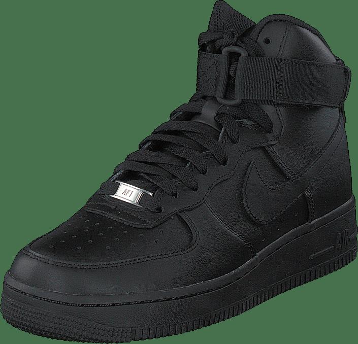 Air Force 1 High Black/black-black