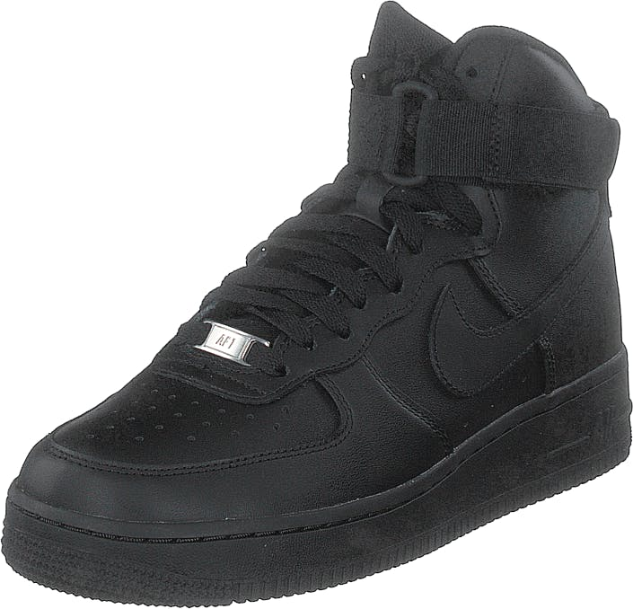 Nike Air Force 1 High Black/black-black, Skor, Sneakers & Sportskor, Höga sneakers, Svart, Dam, 41