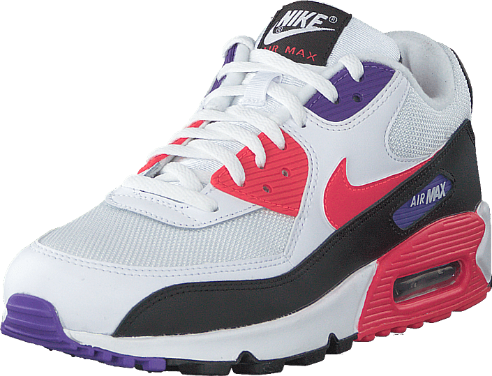 Nike - Air Max '90 Essential White/red Orbit-psychic Purple